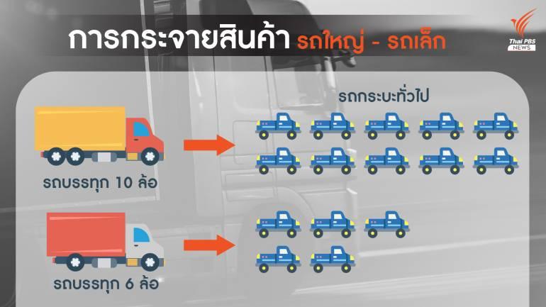 , ห้ามรถบรรทุกเข้ากรุงฯ สินค้าขาดแคลน แนะลดรถส่วนตัว