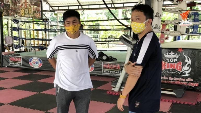 แสงมณี คลองสวนพลู นักมวยไทยค่าตัวเงินแสน (เสื้อขาว)