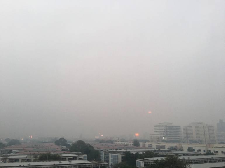 , กทม.-ปริมณฑล ฝุ่น PM 2.5 เกินมาตรฐาน 59 พื้นที่ หนักสุดดินแดง