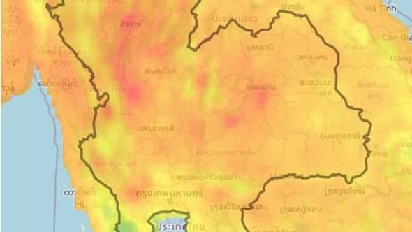 """, """"จิสด้า"""" ชี้ทั่วไทยพบ Hotspot 4,500 จุดเริ่มเผาพื้นที่เกษตร"""