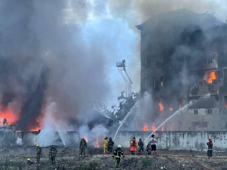 ภาพ : อาสาดับเพลิง