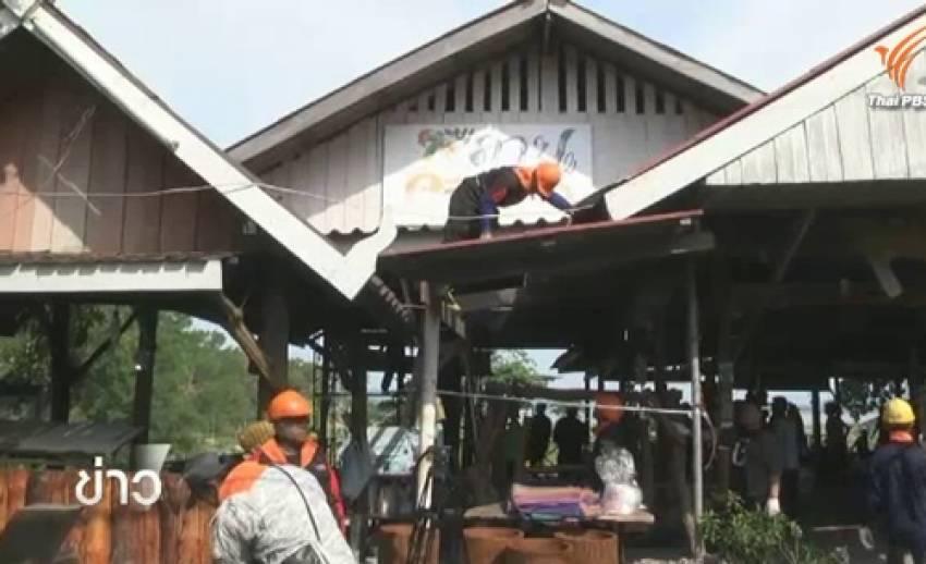 13 ร้านอาหารริมเขื่อนลำตะคองยินยอมให้รื้อถอน-จ่อรื้ออีก 25 แห่ง กลางเดือนนี้