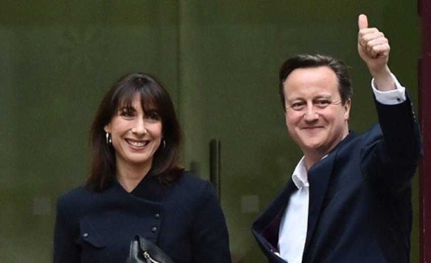 """""""เดวิด คาเมรอน"""" เป็นนายกฯ อังกฤษอีกสมัย-ได้เสียงข้างมากในสภาฯ"""