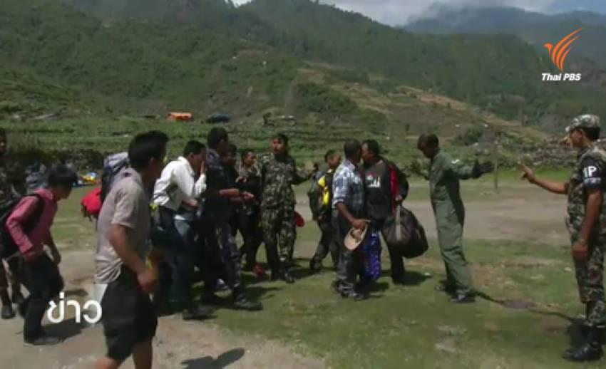 ติดตามปฏิบัติการกองทัพอินเดีย-เนปาล ช่วยผู้ประสบภัยแผ่นดินไหว