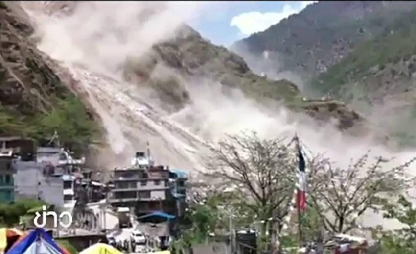 ยอดผู้เสียชีวิตจากแผ่นดินไหวใหญ่ครั้งที่ 2 ในเนปาล เพิ่มเป็น 68 คน