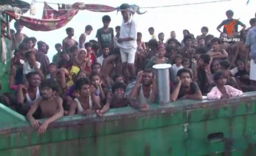 ผู้อพยพชาวโรฮิงญาเปิดเผยความโหดร้ายบนเรืออพยพ