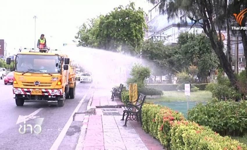 กทม.-สโมสรตำรวจใช้น้ำทิ้งบำบัดรดต้นไม้ ช่วยประหยัดน้ำวันละ 100,000 ลิตร