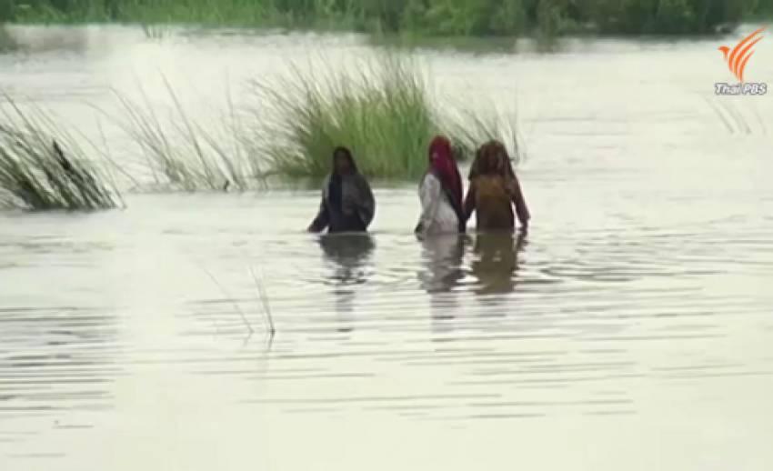 น้ำท่วมใหญ่ในปากีสถาน จีน-อินเดีย เจอคลื่นความร้อน-ภัยแล้ง