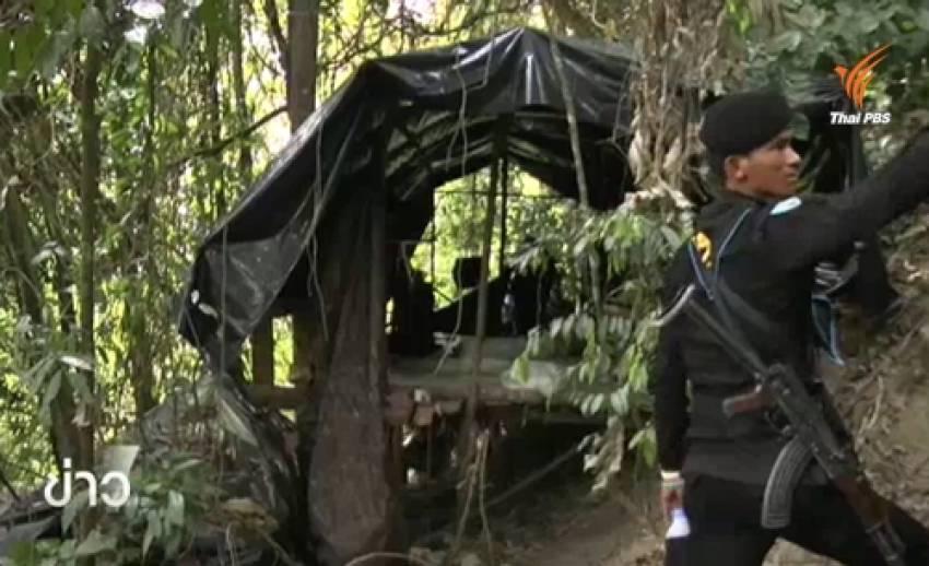 ทหารจับแนวร่วมก่อความไม่สงบ-ยึดฐานปฎิบัติการ จ.นราธิวาส