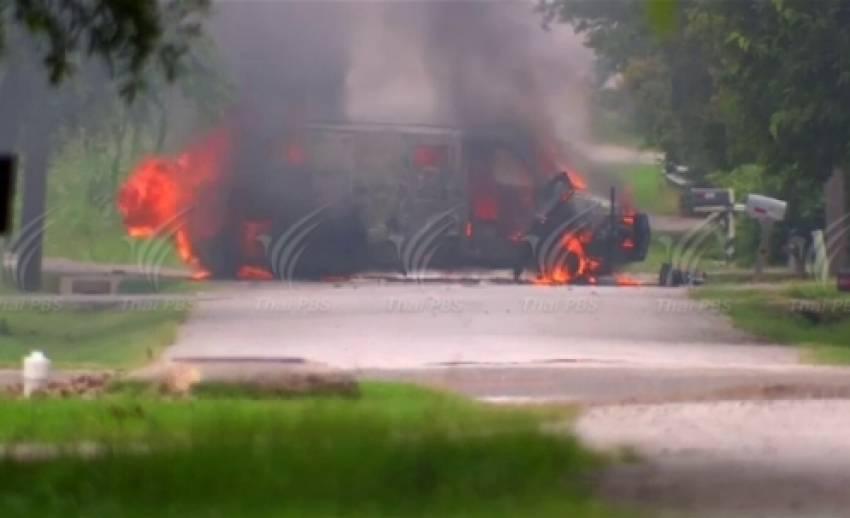 ตร.สหรัฐฯ วิสามัญผู้ก่อเหตุยิงถล่ม-วางระเบิดสำนักงานตำรวจเมืองดัลลัส