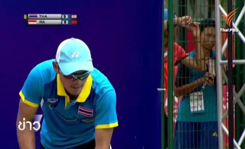 เทนนิสทีมชายไทยคว้าเหรียญทองซีเกมส์