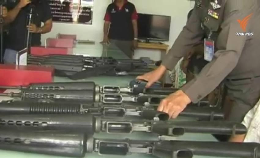 ตร.นครศรีธรรมราชจับ 3 ผู้ต้องหาคดีงัดคลังแสง-ได้ปืนครบหมดแล้ว