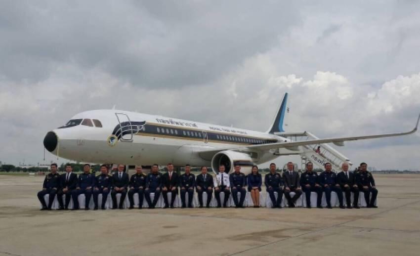 รมว.กลาโหมเป็นประธานพิธีบรรจุเครื่องบินรับ-ส่งบุคคลสำคัญในฝูงบิน 602 รักษาพระองค์