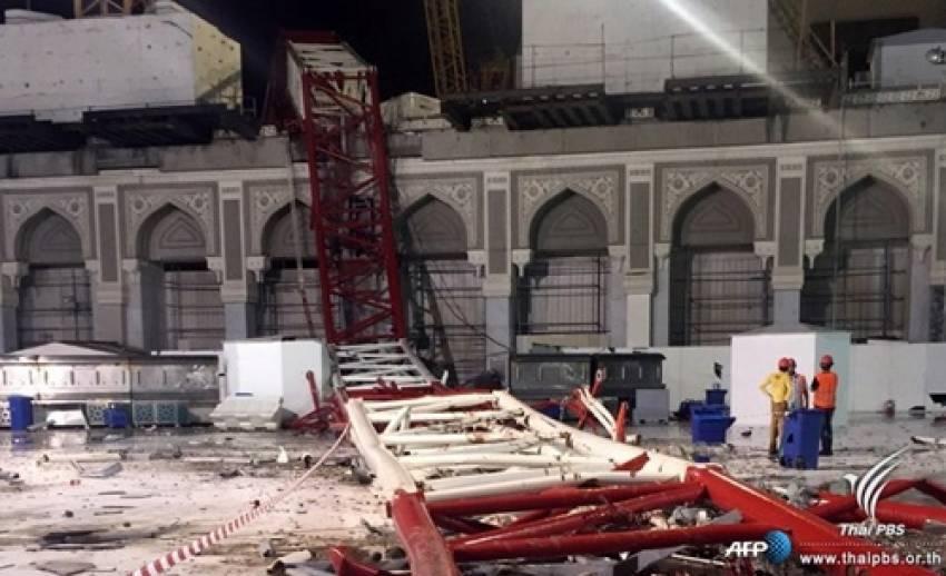 สำนักงานกิจการฮัจย์ระบุ พบคนไทย 2 คนที่สูญหายจากเหตุเครนล้มในมัสยิดที่ซาอุฯ แล้ว รักษาตัวอยู่ใน รพ.