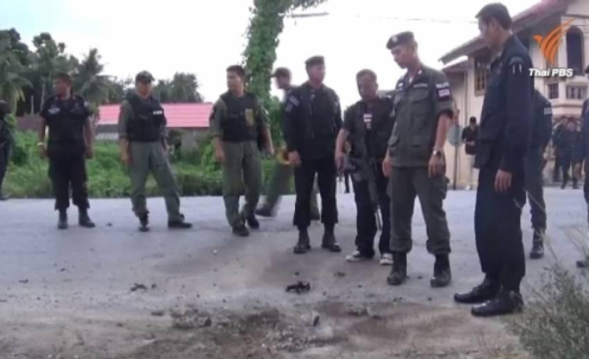 คุมตัวผู้ต้องสงสัยระเบิดชุดคุ้มครองครูปัตตานี ทำให้นักเรียนบาดเจ็บ 5 ทหารพราน 3 คน