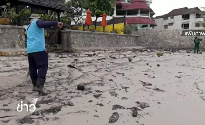 เร่งติดตามตัวผู้ก่อเหตุน้ำมันปนเปื้อนในอ่าวไทย-เทศบาลหัวหินเผยค่าเสียหายนับร้อยล้าน