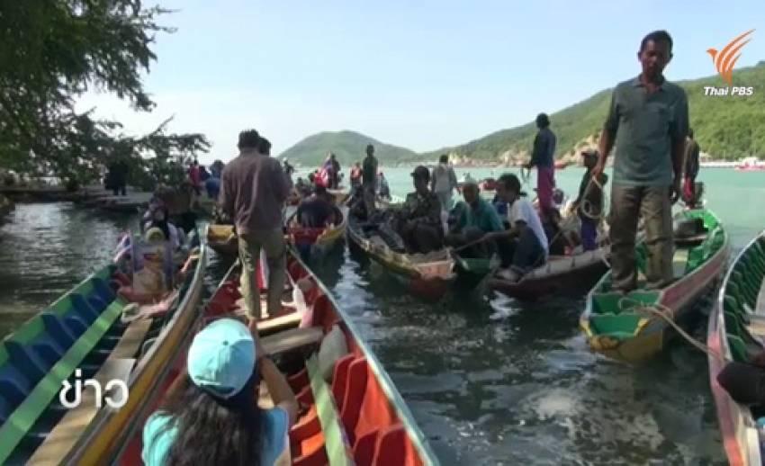 จนท.เลื่อนรื้อถอนโพงพางในทะเลสาบสงขลา ชาวบ้านรวมตัวค้าน-หวั่นสร้างสถานการณ์