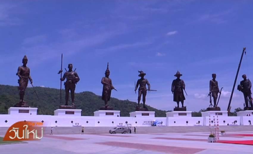 """กองทัพบกจัดพิธีบวงสรวงฯ พระบรมราชานุสาวรีย์ 7 กษัตริย์ เปิด """"อุทยานราชภักดิ์"""""""