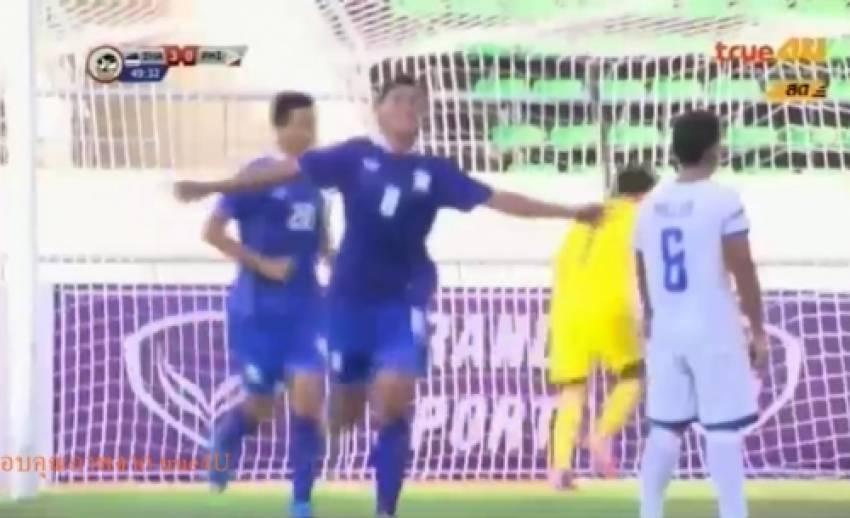 ทีมชาติไทย ถล่ม ฟิลิปปินส์ 4-1 ในฟุตบอล ยู-19 ชิงแชมป์อาเซียน