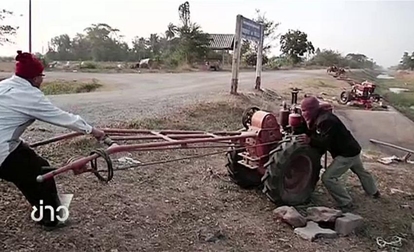 เกษตรกรหยุดสูบน้ำคลองมะขามเฒ่า หลังกรมชลฯ ประกาศยึดเครื่องสูบน้ำ