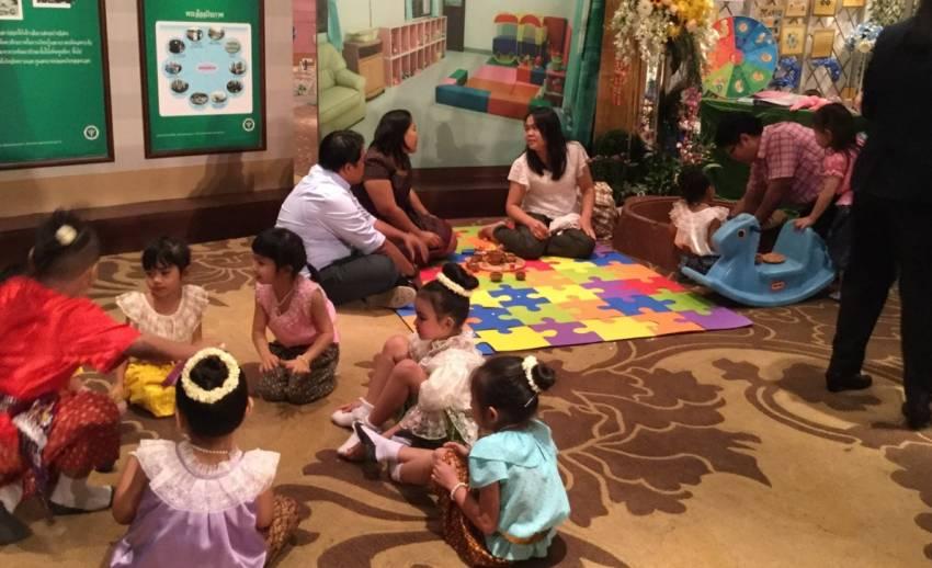 """สธ.เคลื่อนนโยบาย """"ชวนลูกเล่นตามรอยพระยุคลบาท"""" เสริมสร้างเด็กไทยแข็งแรง"""