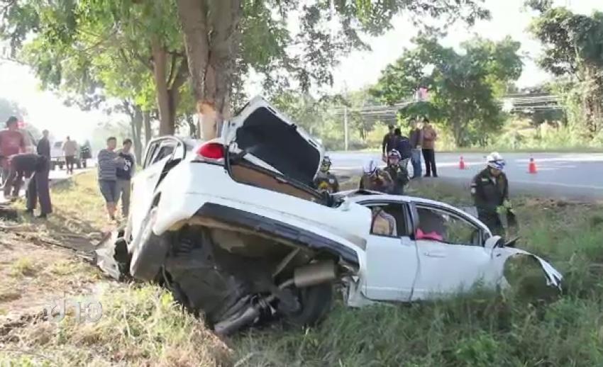 อุบัติเหตุทางถนนช่วงปีใหม่ 3 วัน-เสียชีวิต 178 คน จนท.ยึดรถตามมาตรการดื่มไม่ขับ 1034 คัน
