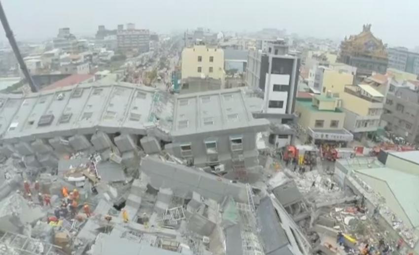 ผู้เสียชีวิตจากเหตุแผ่นดินไหวไต้หวันเพิ่มเป็น 7 คน