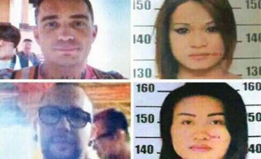 """ตร.รวบเพื่อนสาวชาวไทย ของ """"อาตูร์"""" ผู้ต้องสงสัยฆ่าหั่นศพชาวสเปน หลังกลับบ้านที่สุรินทร์"""