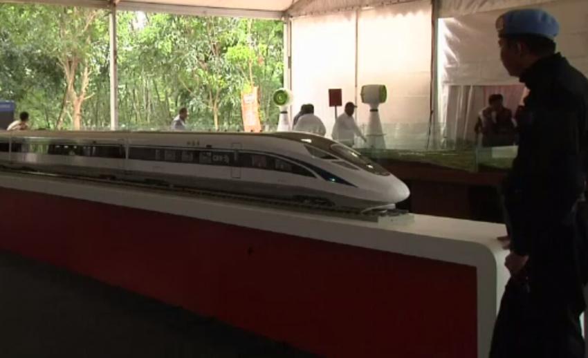 """""""อินโดนีเซีย"""" เริ่มก่อสร้างทางรถไฟความเร็วสูงเชื่อมกรุงจาการ์ตา-เมืองบันดุง"""