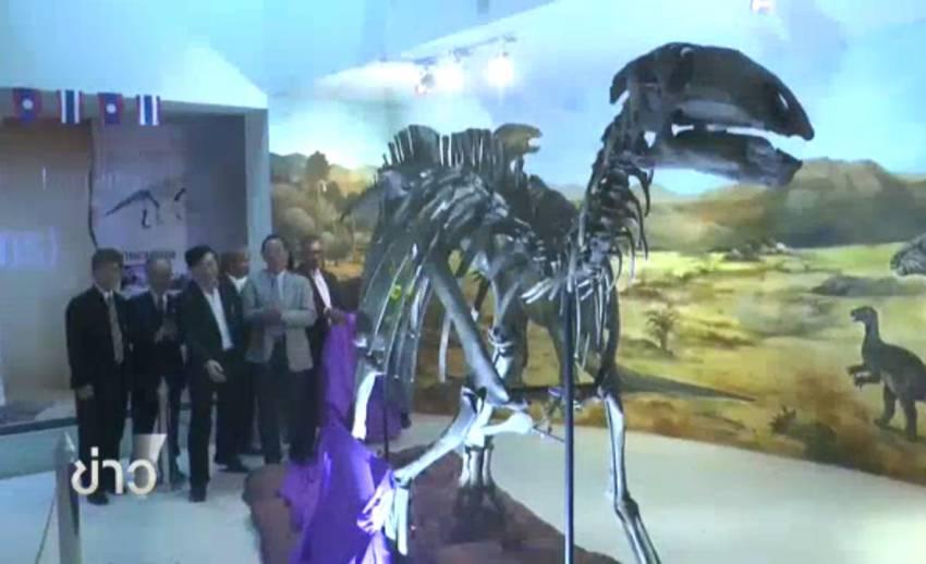 """สมเด็จพระเทพฯ พระราชทานชื่อ """"สิรินธรน่า"""" ไดโนเสาร์สายพันธุ์ใหม่พบในไทย"""
