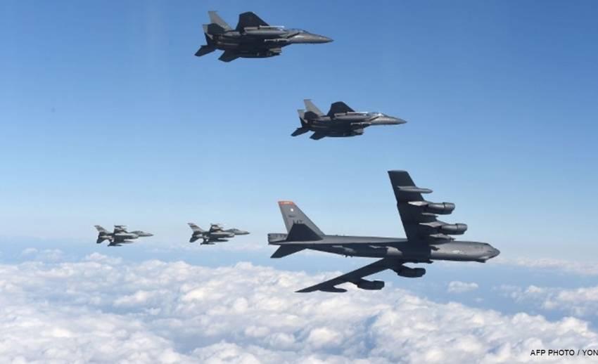 สหรัฐฯ ส่งเครื่องบินทิ้งระเบิด B-52 บินใกล้พรมแดนเกาหลีเหนือ