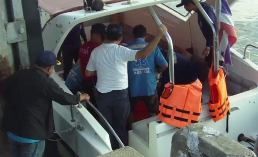 ตร.จับกุมคนขับเรือสปีดโบ๊ทต้องสงสัยขับชนนักท่องเที่ยวฝรั่งเศสเสียชีวิต