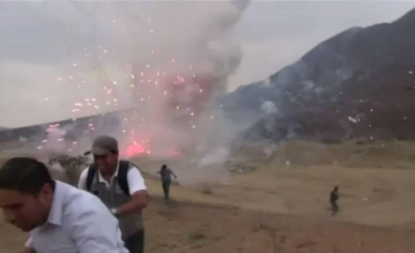 เกิดเหตุดอกไม้ไฟระเบิดในเปรู-ไม่มีรายงานผู้บาดเจ็บ