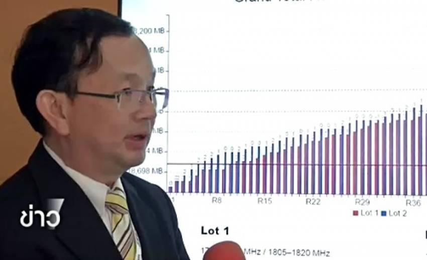 """""""หมอลี่"""" ชี้ราคาประมูล 4G คลื่น 1800 MHz ไม่ได้ทำลายสถิติโลก-คาดว่าคลื่น 900 MHz แข่งเข้มข้น"""