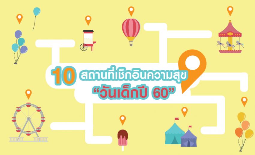 """10 สถานที่ """"วันเด็ก"""" สุดชิคและดีต่อใจ ชวนพาไปเช็กอินความสุข"""